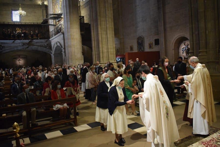 Haro celebra San Felices en la intimidad de la parroquia 37