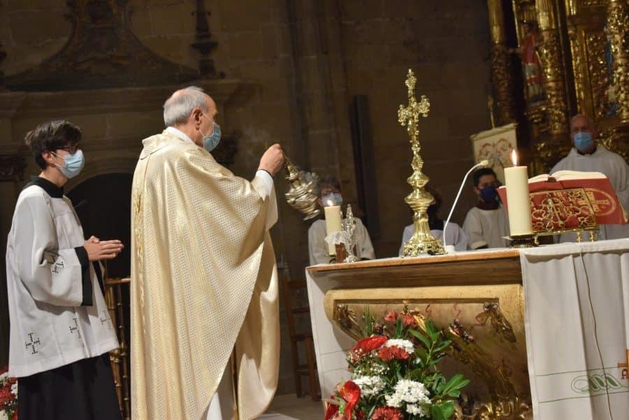 Haro celebra San Felices en la intimidad de la parroquia 29