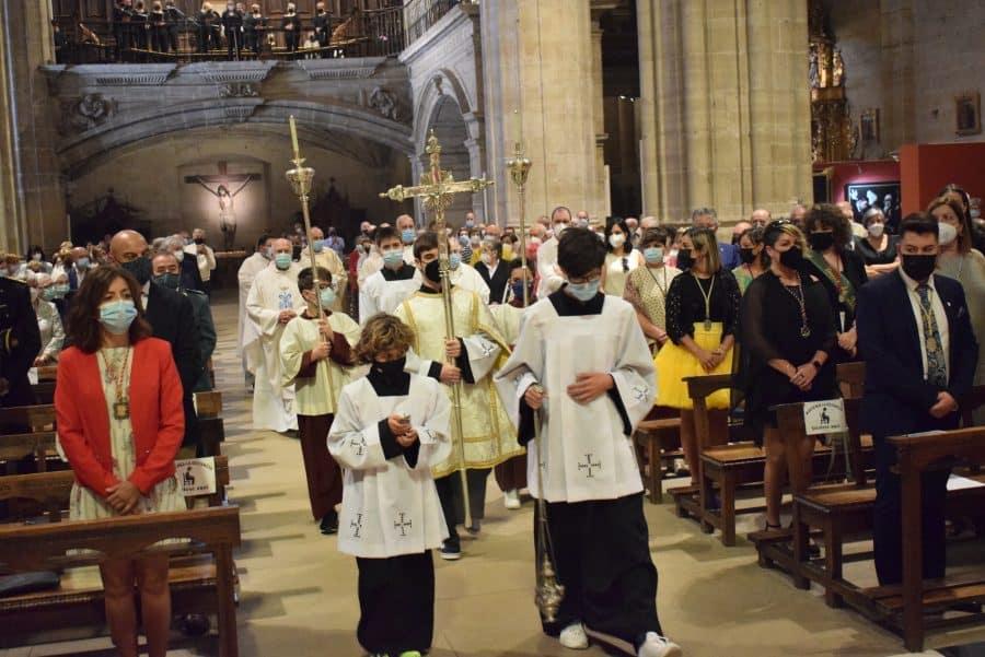 Haro celebra San Felices en la intimidad de la parroquia 20