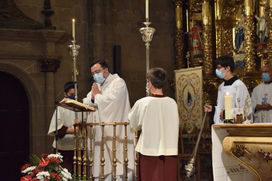 Haro celebra San Felices en la intimidad de la parroquia 46
