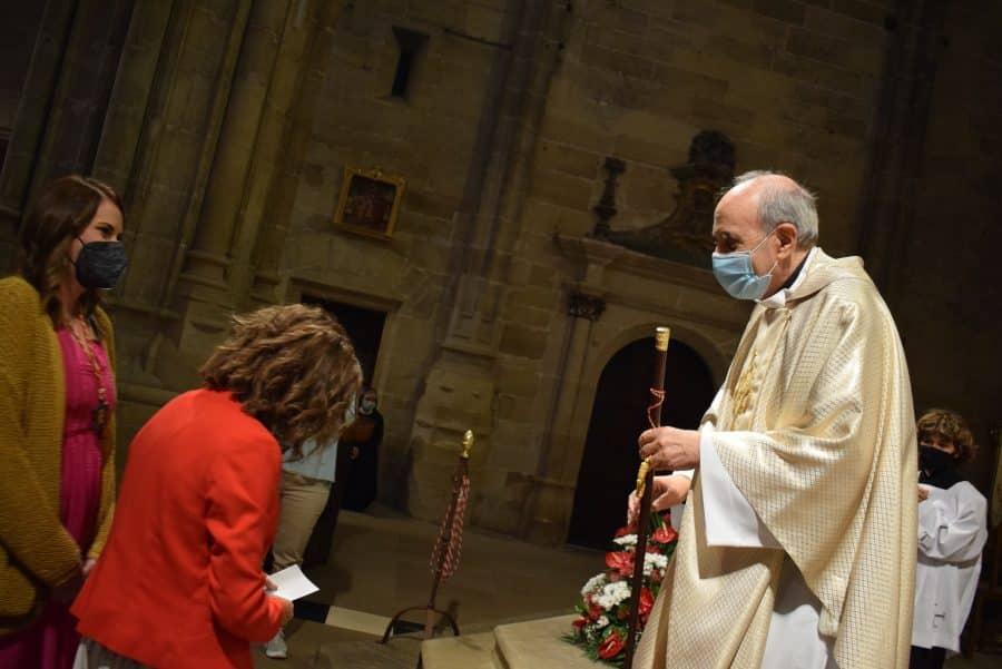 Haro celebra San Felices en la intimidad de la parroquia 23
