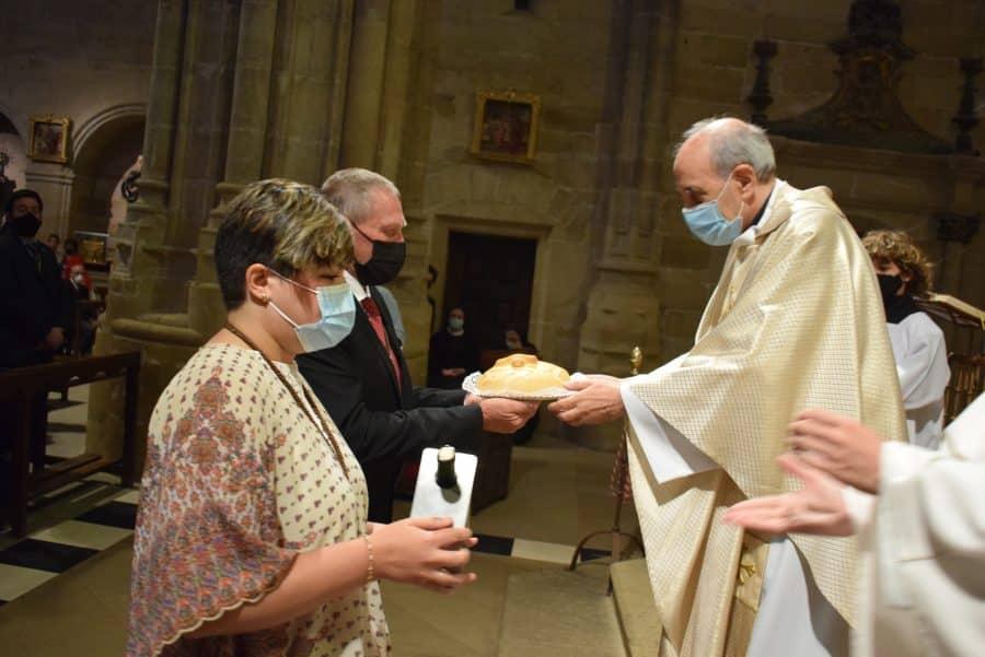 Haro celebra San Felices en la intimidad de la parroquia 17