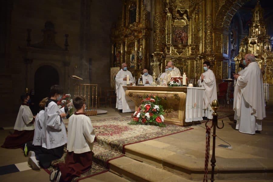 Haro celebra San Felices en la intimidad de la parroquia 15