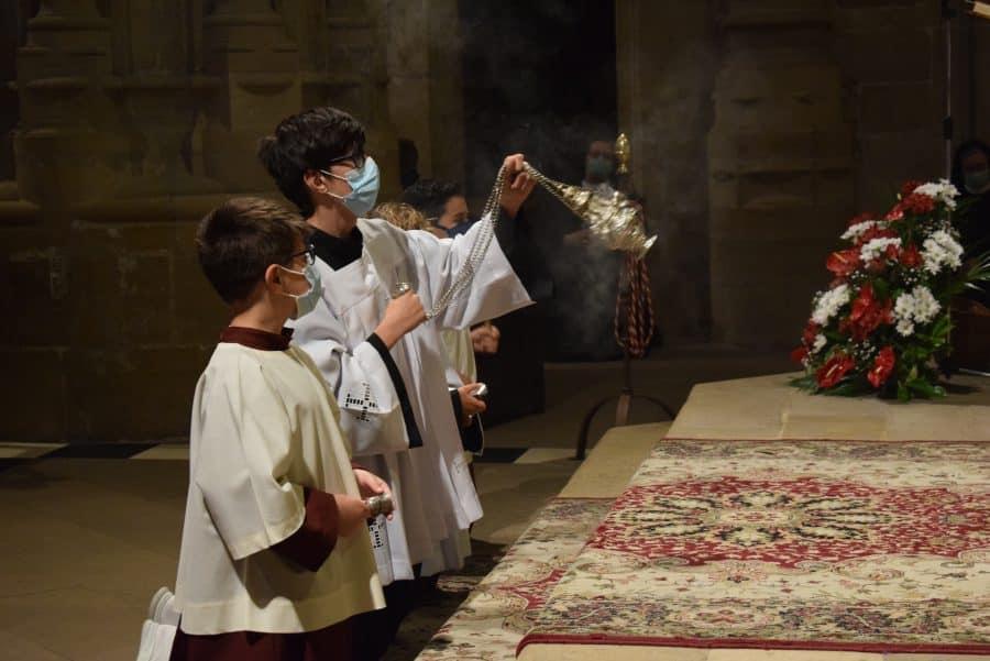 Haro celebra San Felices en la intimidad de la parroquia 14