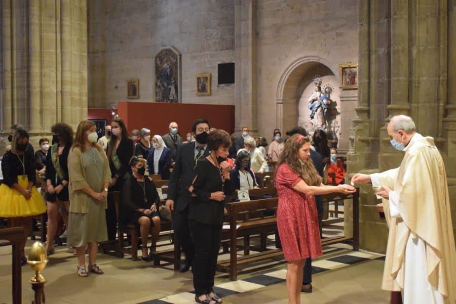 Haro celebra San Felices en la intimidad de la parroquia 13
