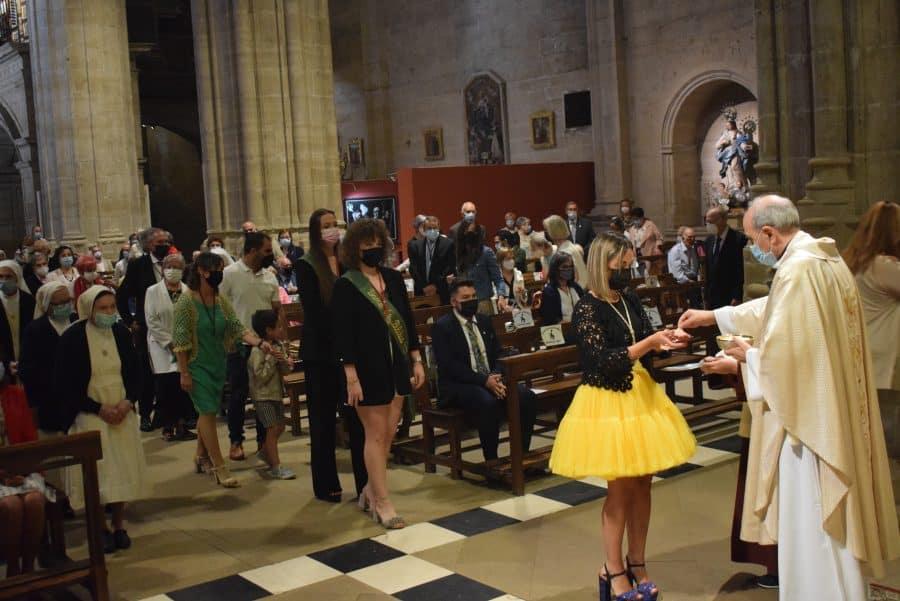Haro celebra San Felices en la intimidad de la parroquia 12