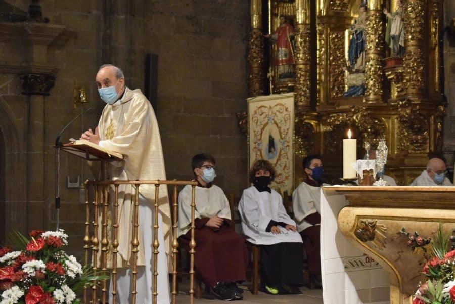 Haro celebra San Felices en la intimidad de la parroquia 47