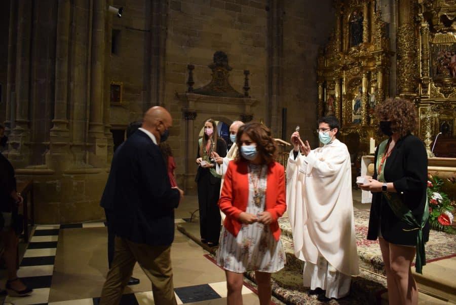 Haro celebra San Felices en la intimidad de la parroquia 10
