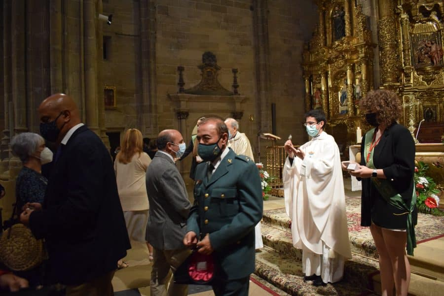 Haro celebra San Felices en la intimidad de la parroquia 9