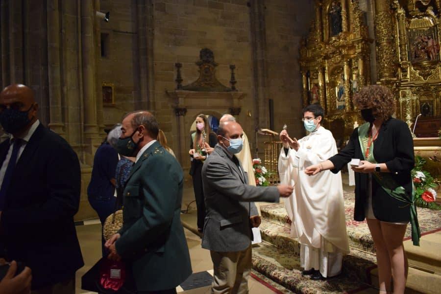 Haro celebra San Felices en la intimidad de la parroquia 8