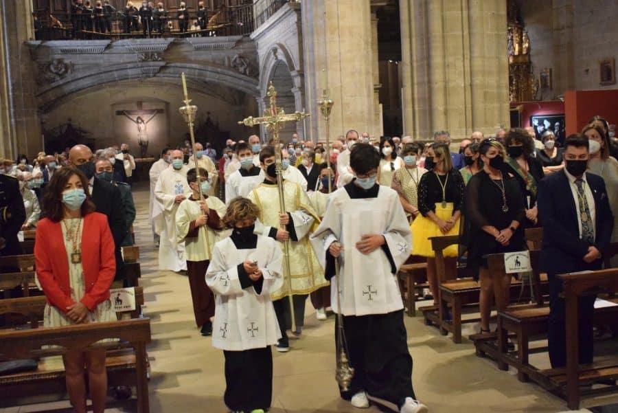 Haro celebra San Felices en la intimidad de la parroquia 48