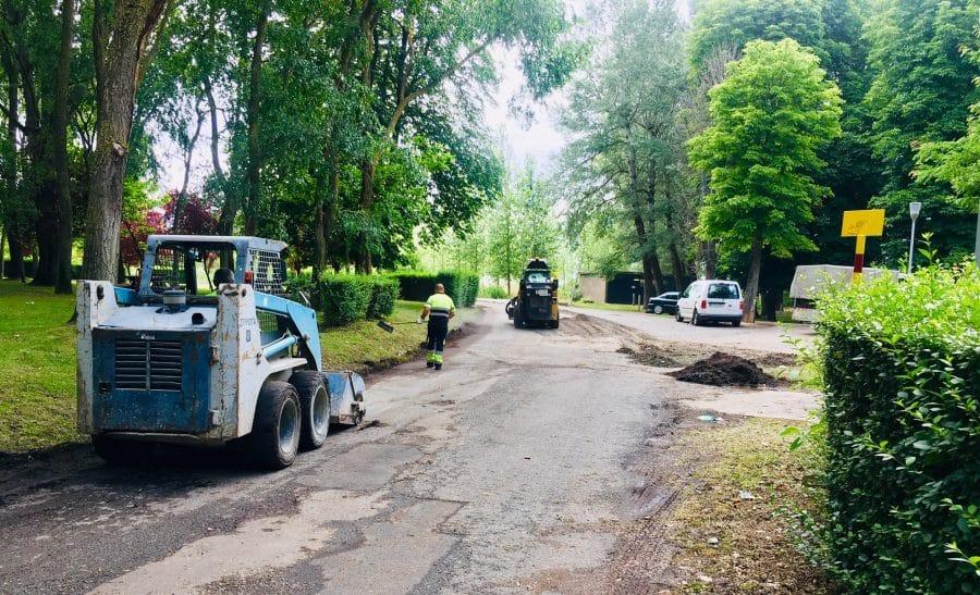 Haro inicia los trabajos de acondicionamiento de los accesos a Fuente del Moro 1