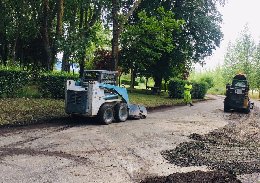 Haro inicia los trabajos de acondicionamiento de los accesos a Fuente del Moro 4