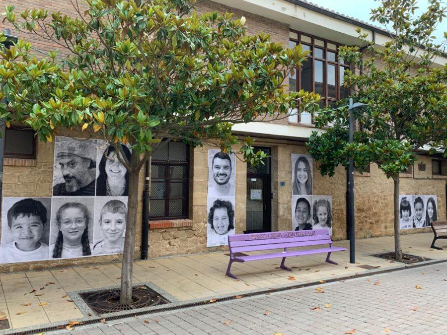 La Escuela Pública de Labastida invade la localidad con una galería de fotografías al aire libre 5