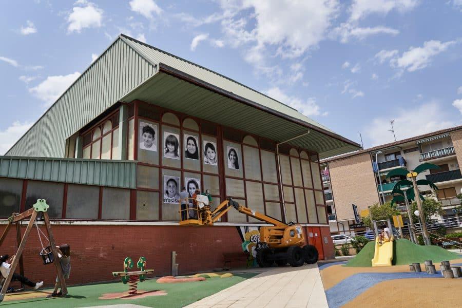 La Escuela Pública de Labastida invade la localidad con una galería de fotografías al aire libre 10