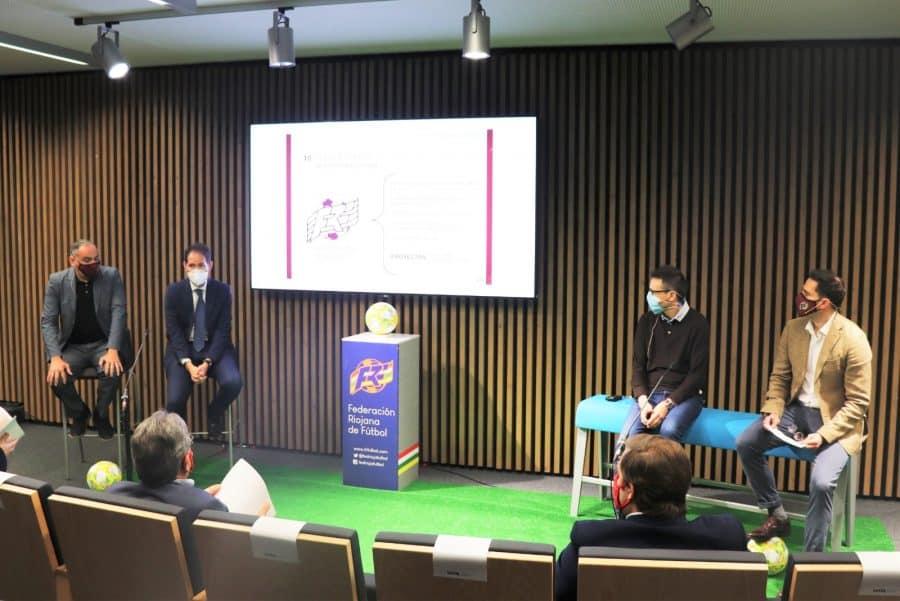 La Federación Riojana de Fútbol presenta su hoja de ruta para el futuro 2