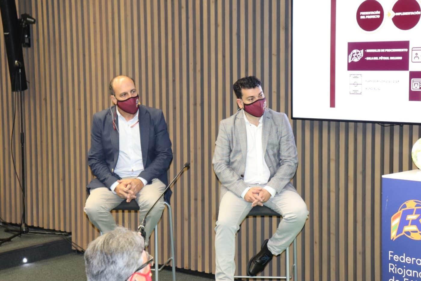 La Federación Riojana de Fútbol presenta su hoja de ruta para el futuro 7