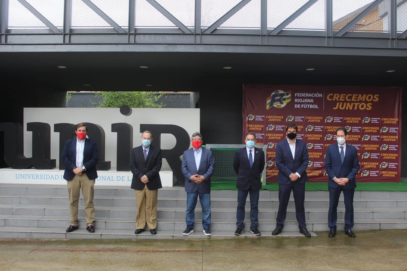 La Federación Riojana de Fútbol presenta su hoja de ruta para el futuro 1