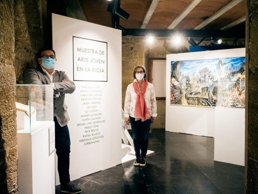 La Muestra de Arte Joven Itinerante de La Rioja llega a Briones 2