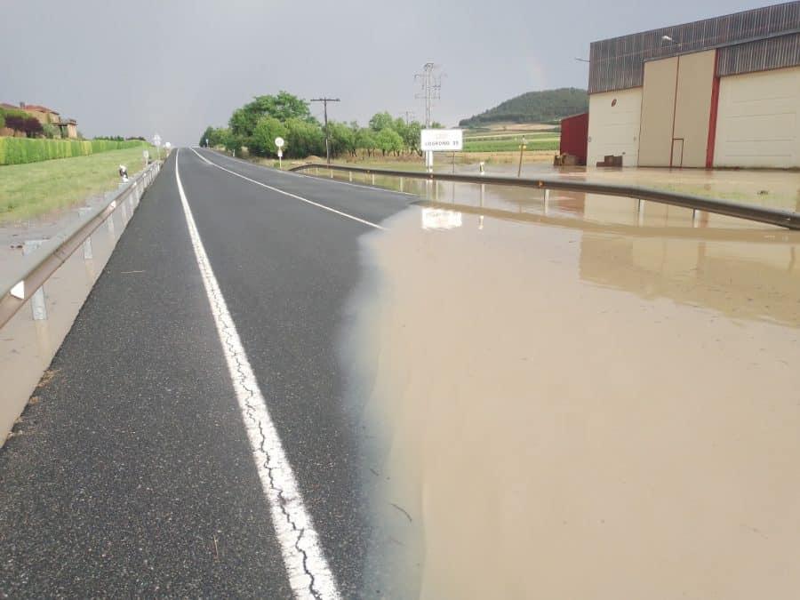 La Rioja registra una treintena de incidencias por el episodio de tormentas de este miércoles 5