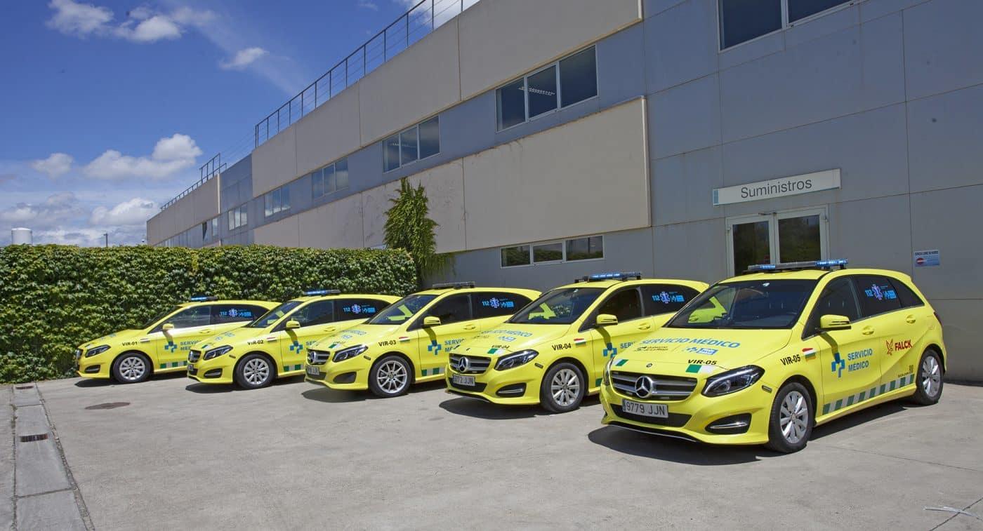 La Rioja incorpora cinco vehículos de intervención rápida para atender urgencias médicas 3