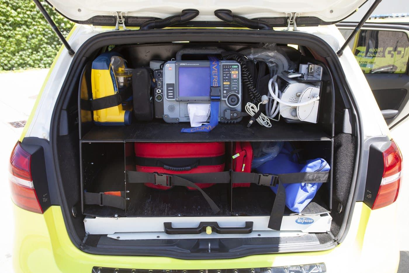 La Rioja incorpora cinco vehículos de intervención rápida para atender urgencias médicas 1