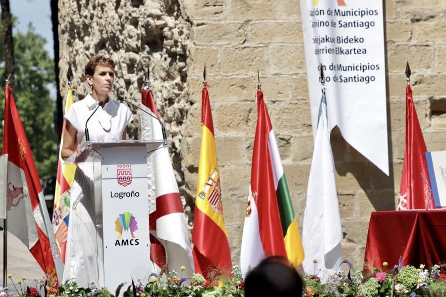La Rioja, junto a Galicia, Aragón, Navarra y Castilla León, unidas por el Camino de Santiago 10