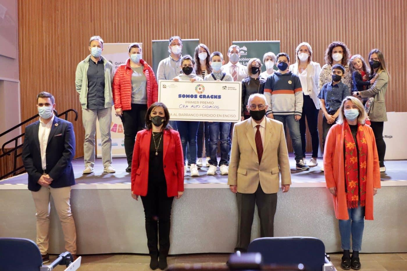 Los colegios Entrevalles, Alto Cidacos, Valle Oja-Tirón y Entreviñas, premiados en el concurso 'Somos CRAcks' 4