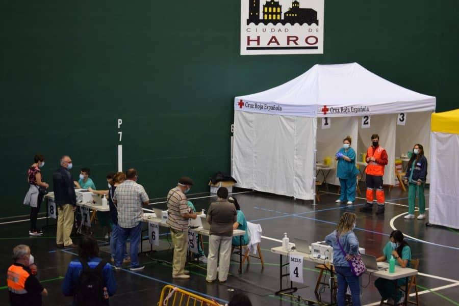Vacunación en Haro por San Felices 3