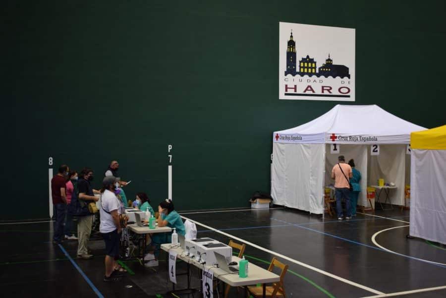 Vacunación en Haro por San Felices 7