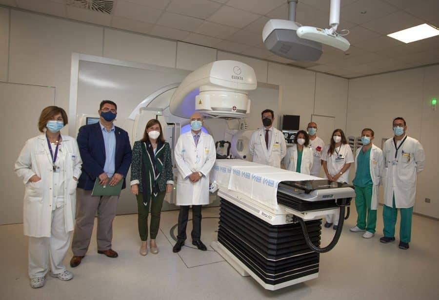 El CIBIR incorpora la radiocirugía para pequeños tumores cerebrales 2