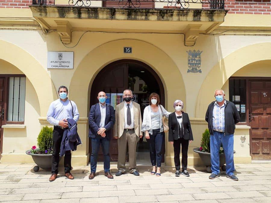 Uruñuela visita el monasterio de La Piedad en Casalarreina tras las últimas acciones de restauración 2