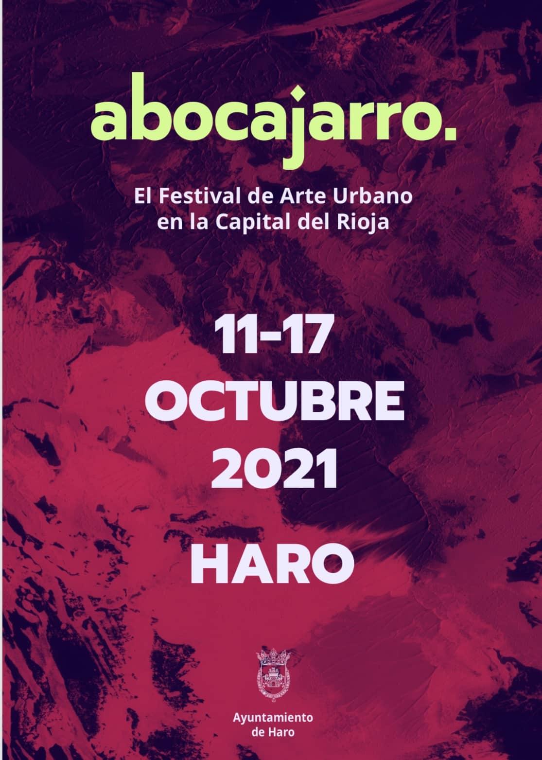 Haro selecciona las propuestas de cinco artistas para el Festival 'Abocajarro' 1