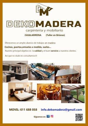 Banner Dekomadera