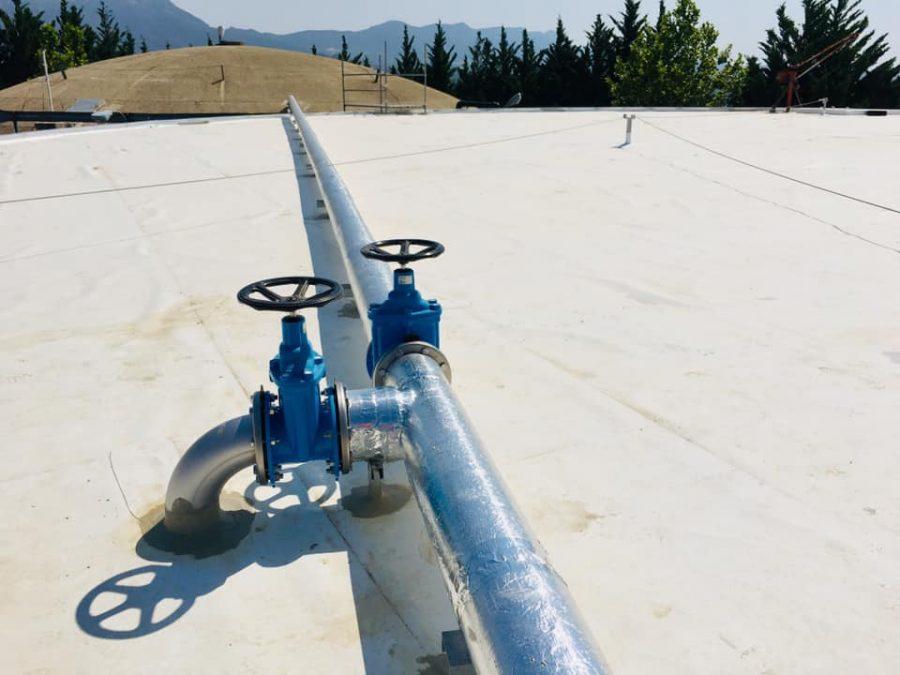 Ya está en funcionamiento el depósito de agua de Haro recientemente reformado 5