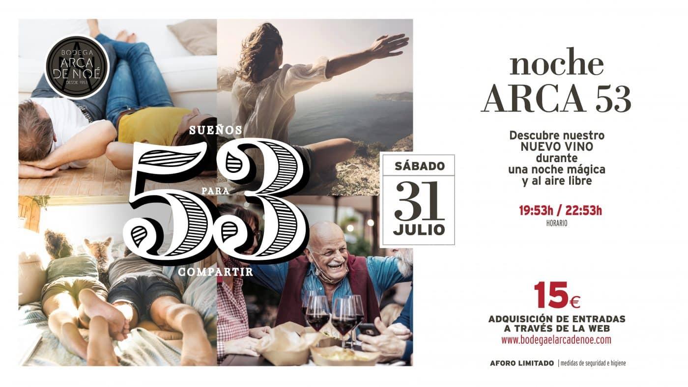 Bodega Arca de Noé celebra este sábado el lanzamiento de su nuevo vino con un planazo enoturístico 2