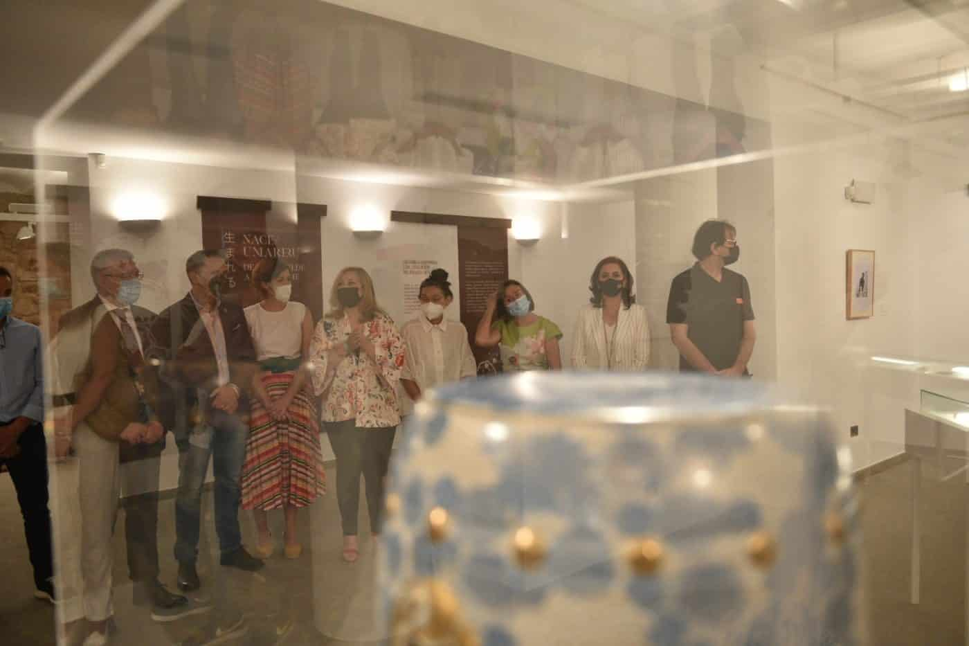 La ceramista serbia Vladica Sivcev, ganadora del Concurso de Pieza Únca de Navarrete 1
