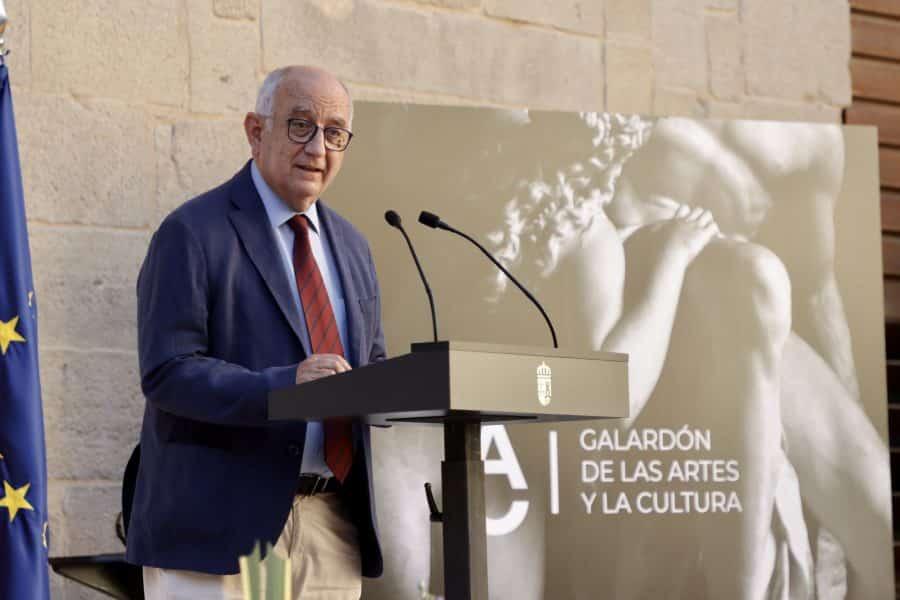 Micaela Pérez Saénz recibe el Galardón de las Artes y la Cultura de La Rioja 3