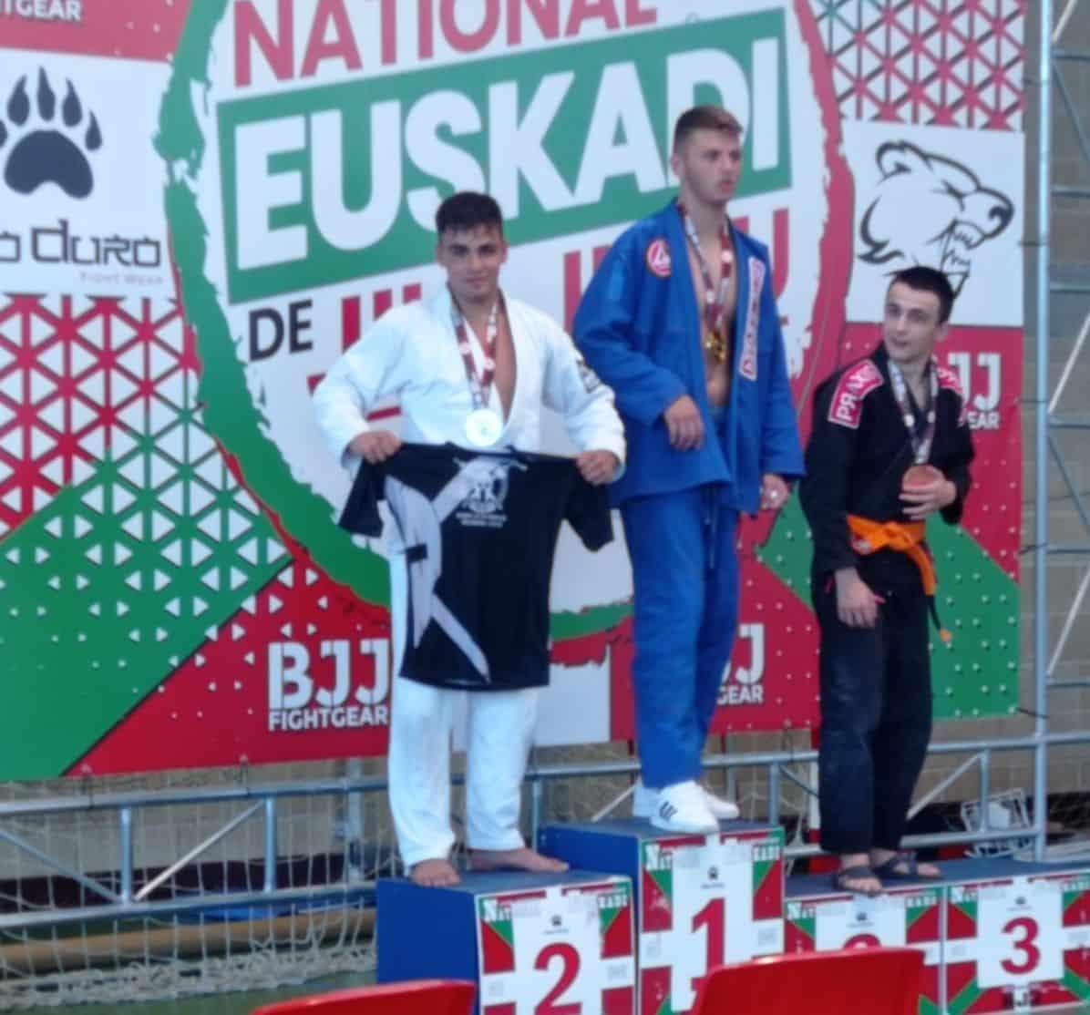 Gran papel del Haro Fight en el Campeonato de Euskadi de Jiu-jitsu 1