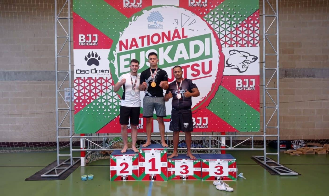 Gran papel del Haro Fight en el Campeonato de Euskadi de Jiu-jitsu 5
