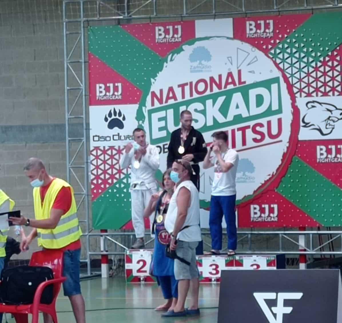 Gran papel del Haro Fight en el Campeonato de Euskadi de Jiu-jitsu 2