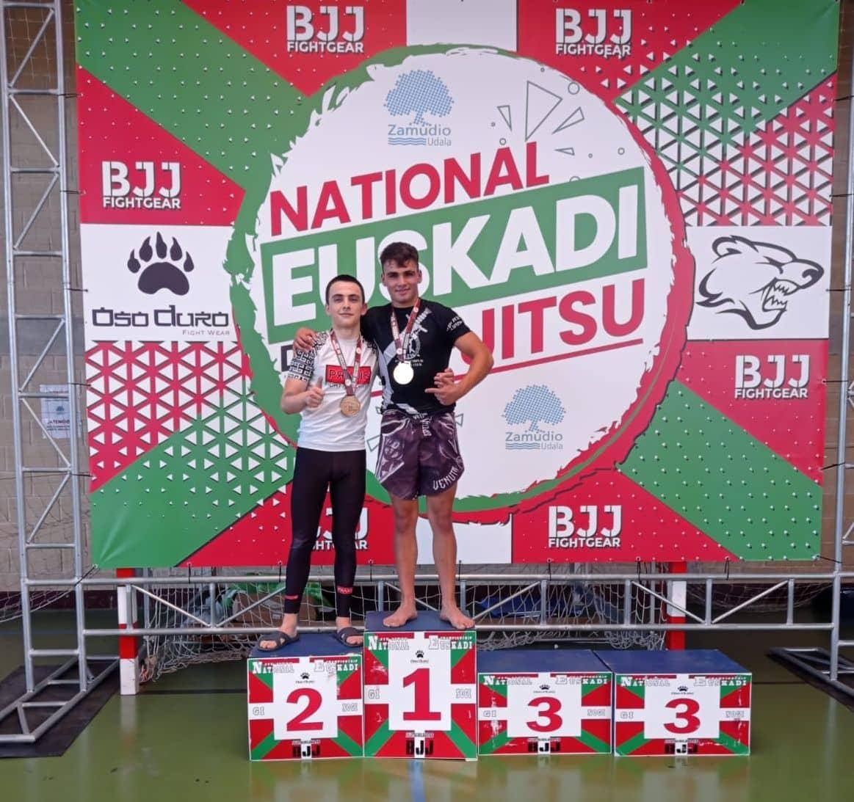 Gran papel del Haro Fight en el Campeonato de Euskadi de Jiu-jitsu 4