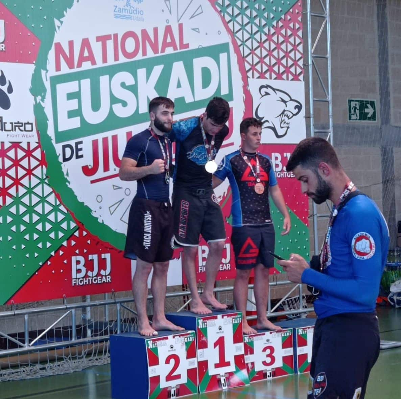 Gran papel del Haro Fight en el Campeonato de Euskadi de Jiu-jitsu 3
