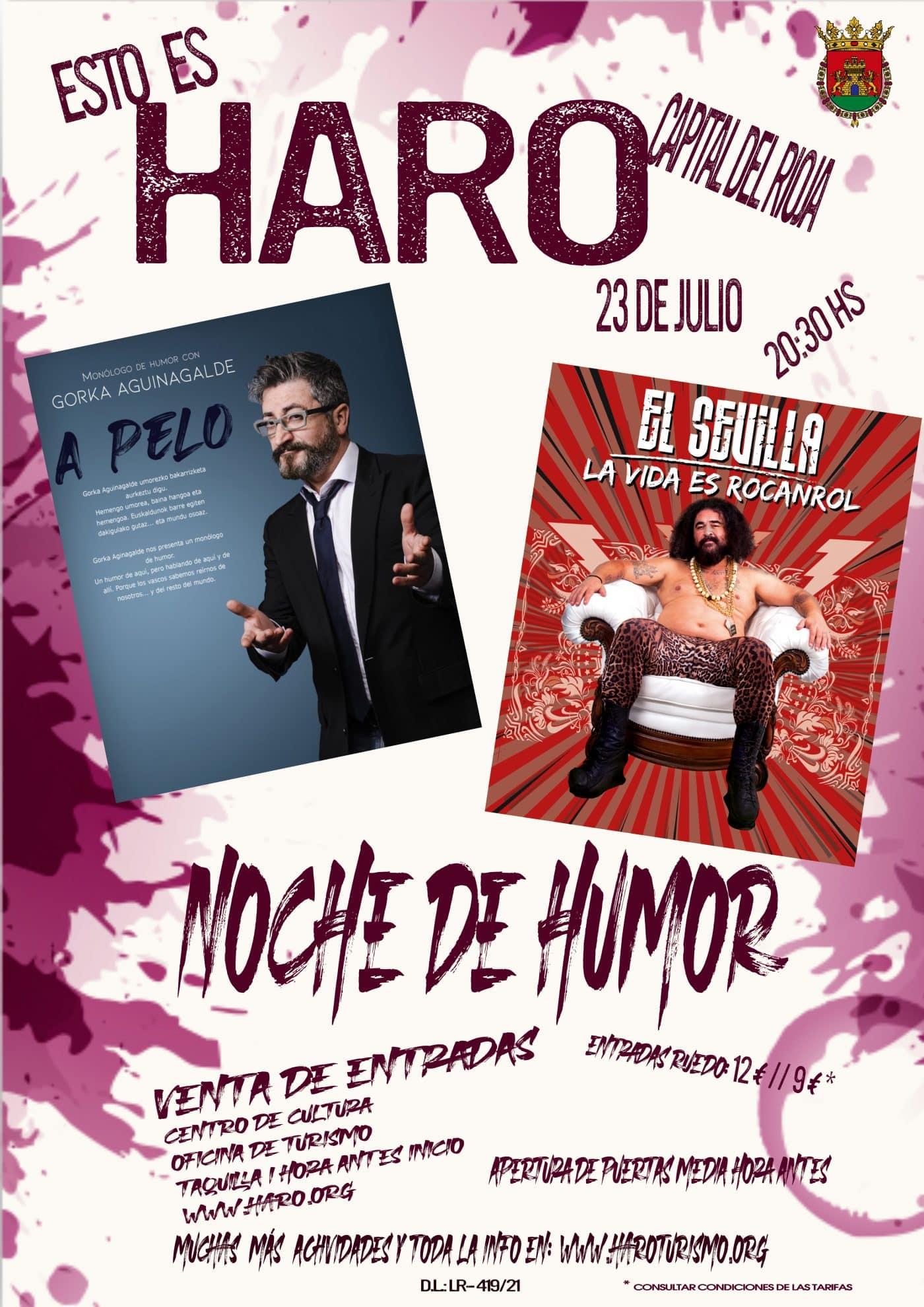 El Sevilla llega a Haro con 'La Vida es Rocanrol' 2