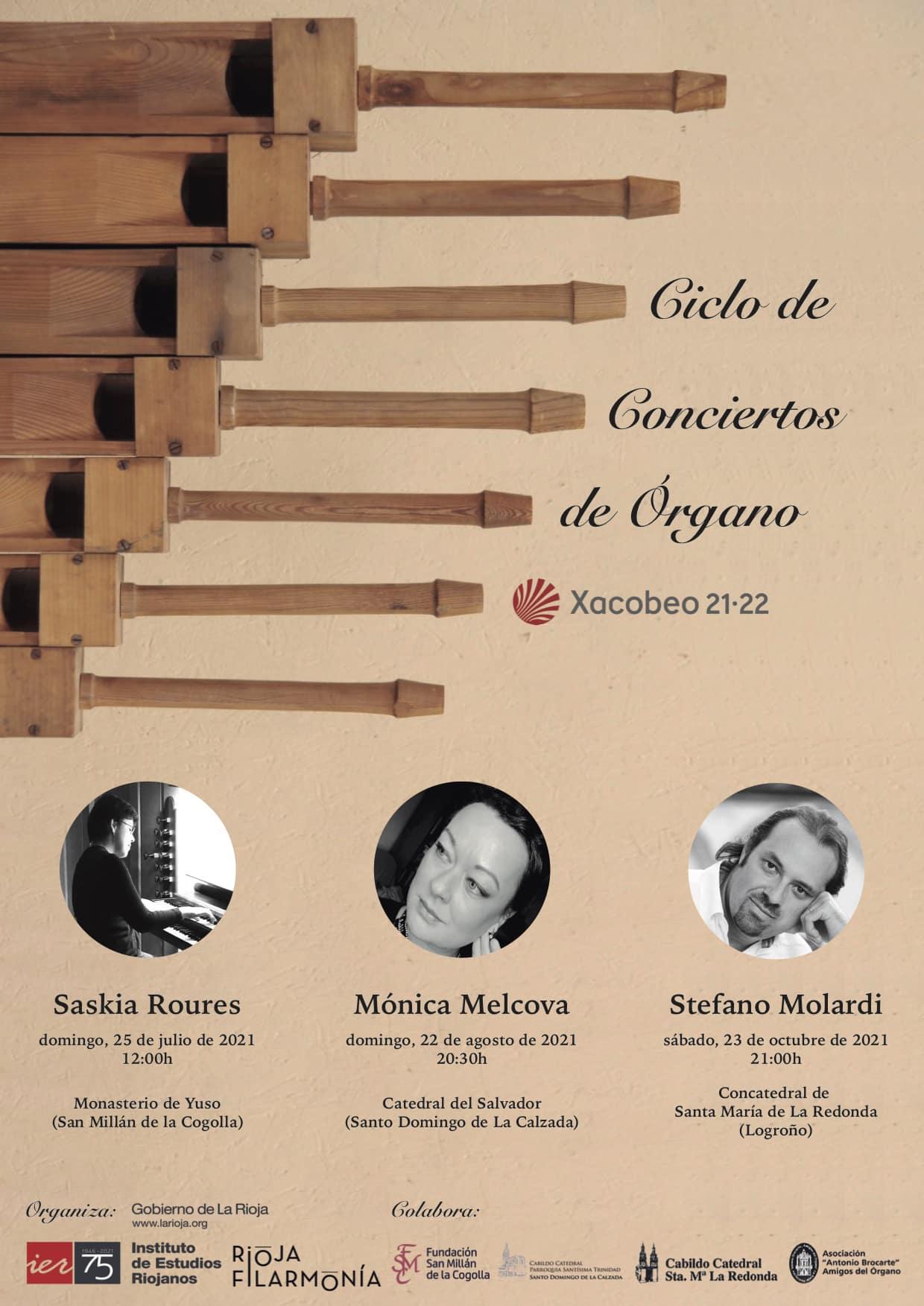 Yuso acoge este domingo el inicio de un Ciclo de Conciertos de Órgano por el Xacobeo 1