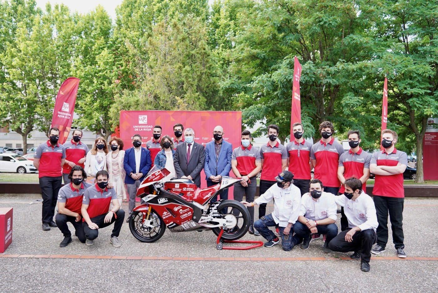 La moto eléctrica de la UR, lista para competir en el VI Certamen Internacional MotoStudent en Alcañiz 3