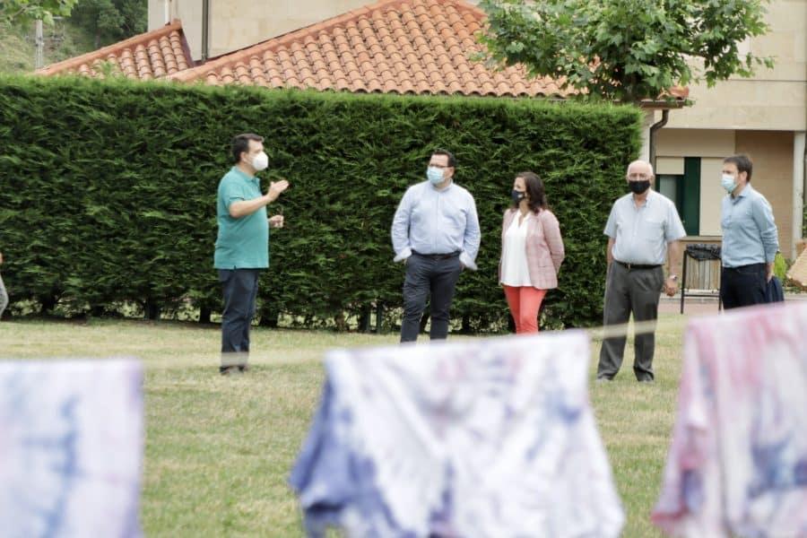 Andreu visita el campamento de verano de Ezcaray 2
