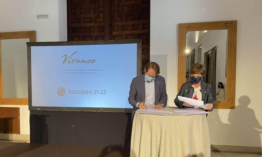 Bodegas Vivanco se convierte en patrocinador del Xacobeo 21-22 1