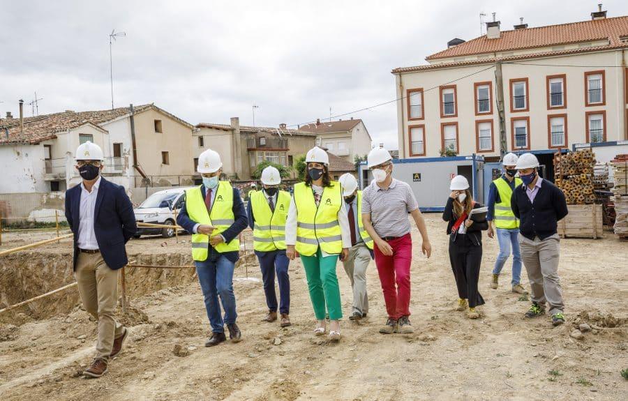 Casalarreina coloca la primera piedra de su futuro colegio que estará listo en 2023 7
