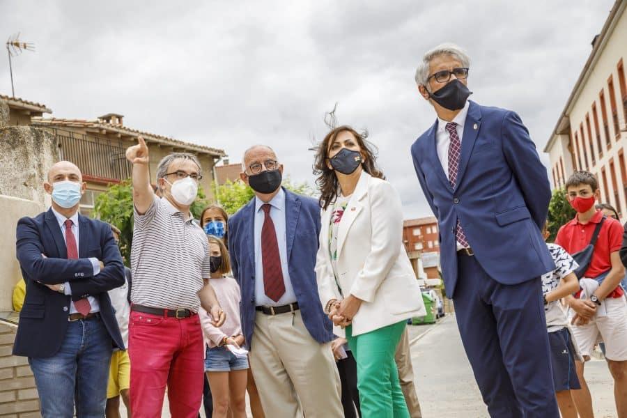 Casalarreina coloca la primera piedra de su futuro colegio que estará listo en 2023 6